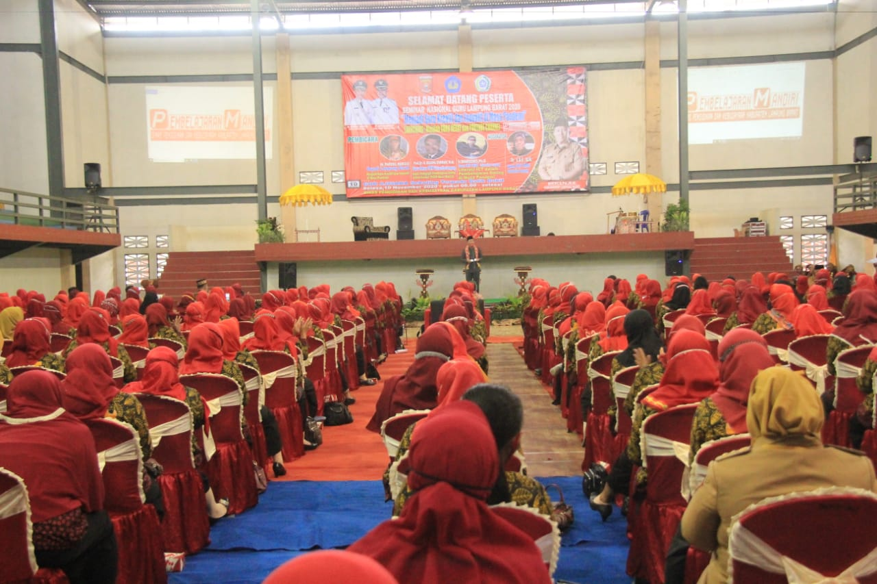 Seminar Nasional Guru Lampung Barat 2020