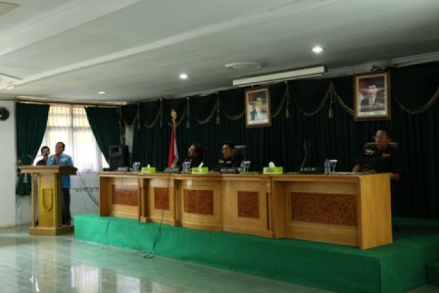 KUNJUNGAN PENGARAHAN KETUA GERAKAN NASIONAL ANTI NARKOTIKA GRANAT REPUBLIK INDONESIA DI KABUPATEN LAMPUNG BARAT